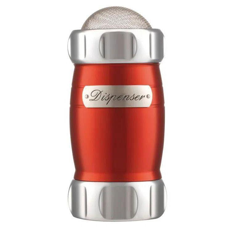 Polvilhador Alumínio Elegance Vermelho - Marcato