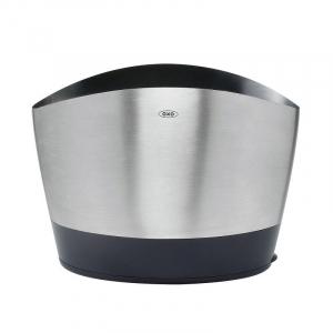 Porta Utensílios Cozinha Aço Inox 3 Compartimentos - OXO