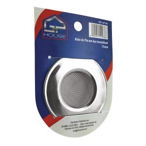 Ralo Protetor de Pia Aço Inox 7,5 cm - GP Inox