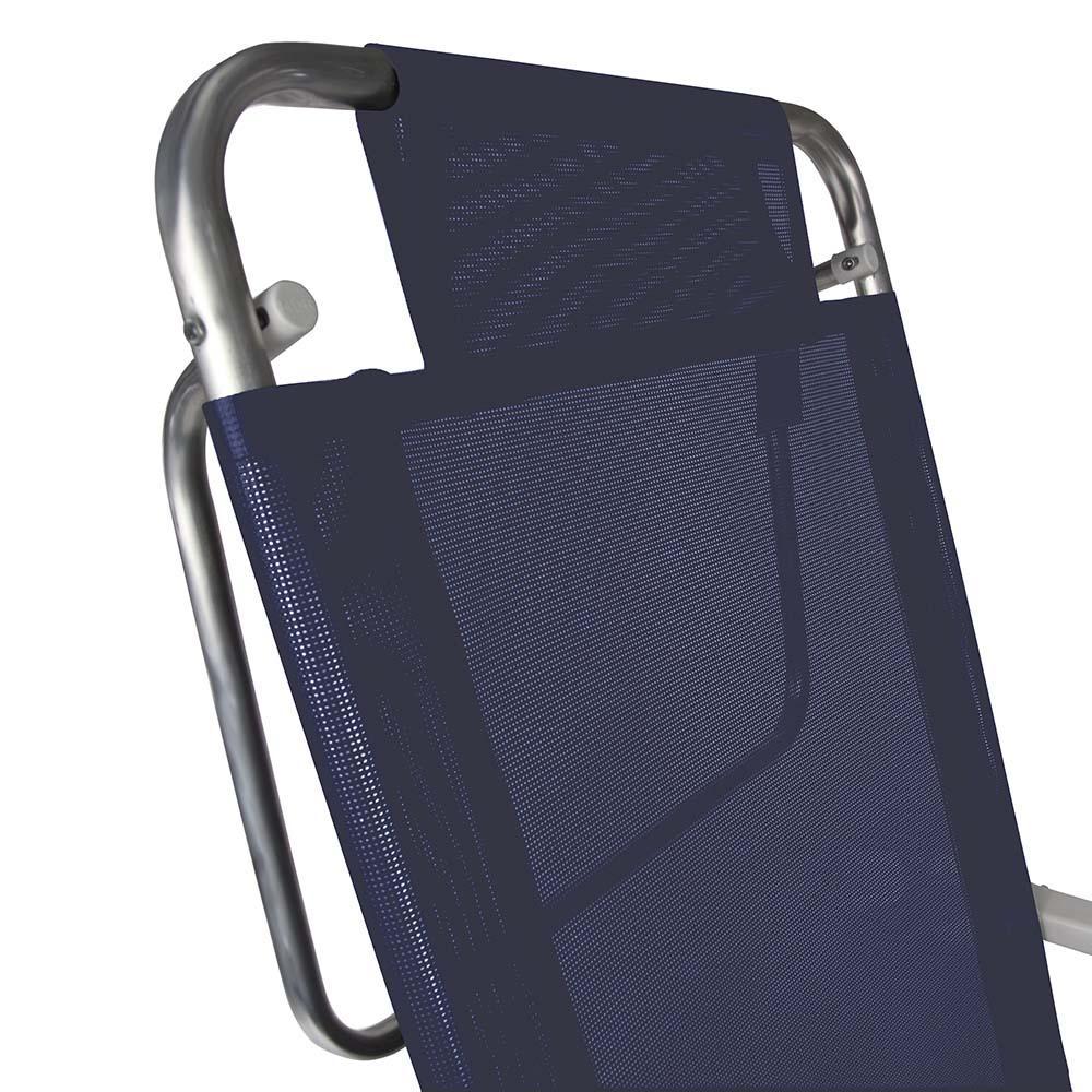 Cadeira de Praia Summer Reclinável Alumínio 6 Posições - Mor