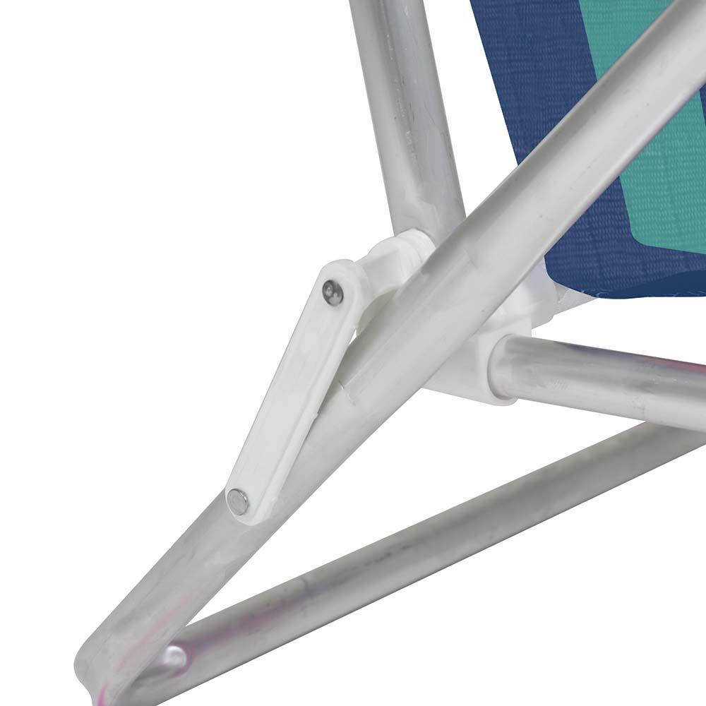 Cadeira Praia Reclinável Alumínio 8 Posições (estampa 2229) - Mor