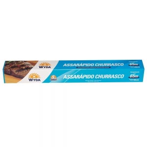 Rolo Assarápido Churrasco Poliéster (65m / 45cm) - Wyda