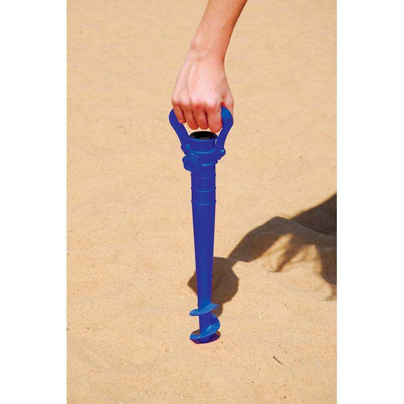 Saca-Areia com Suporte para Guarda-Sol - Mor