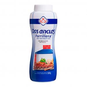Sal Argentino Entrefino para Parrilla Saleiro 500 g - Dos Anclas