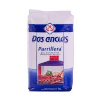 Sal Argentino Entrefino para Parrilla Refil 1 Kg - Dos Anclas
