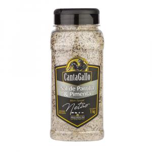 Sal Parrilla & Pimenta Especial Netão 1 Kg - Cantagallo