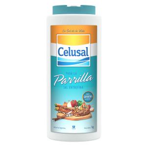 Sal Argentino Entrefino para Parrilla Saleiro 1 Kg - Celusal