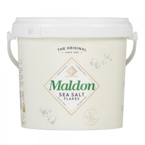Maldon - Sal Inglês em Flocos Balde 1,5 Kg