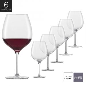 Schott Zwiesel - Kit 6X Taças Cristal (Titânio) Borgonha Banquet 630ml