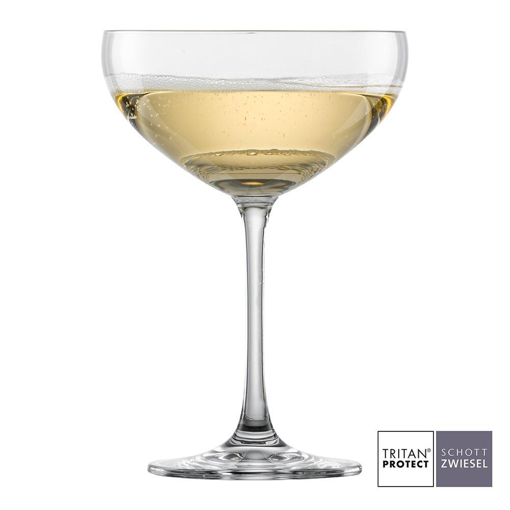 Schott Zwiesel - Kit 6X Taças Cristal (Titânio) Espumante Bar Special 281ml