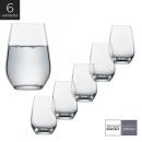 Schott Zwiesel - Kit 6X Copos (Titânio) Cristal Longdrink Viña 397ml