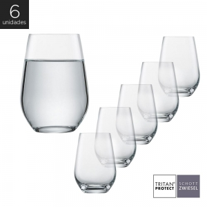 Schott Zwiesel - Kit 6X Copos Cristal (Titânio) Longdrink Viña 548ml