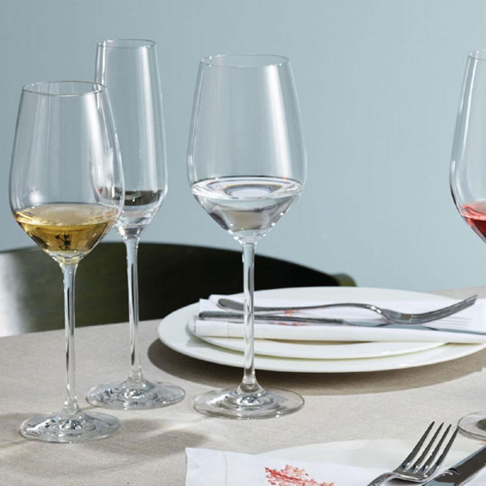 Schott Zwiesel - Kit 6X Taças Cristal (Titânio) Vinho Branco Fortissimo 420ml