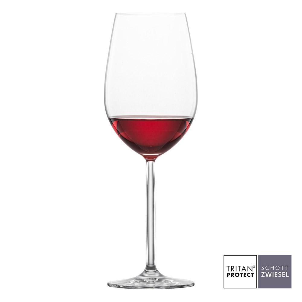 Schott Zwiesel - Kit 6X Taças Cristal (Titânio) Bordeaux Diva 591ml
