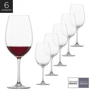 Schott Zwiesel - Kit 6X Taças Cristal (Titânio) Vinho Tinto Ivento 506ml
