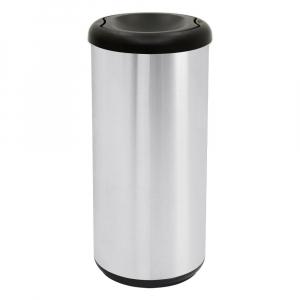 Lixeira Selecta Plus Aço Inox Tampa Basculante 40 Litros - Tramontina