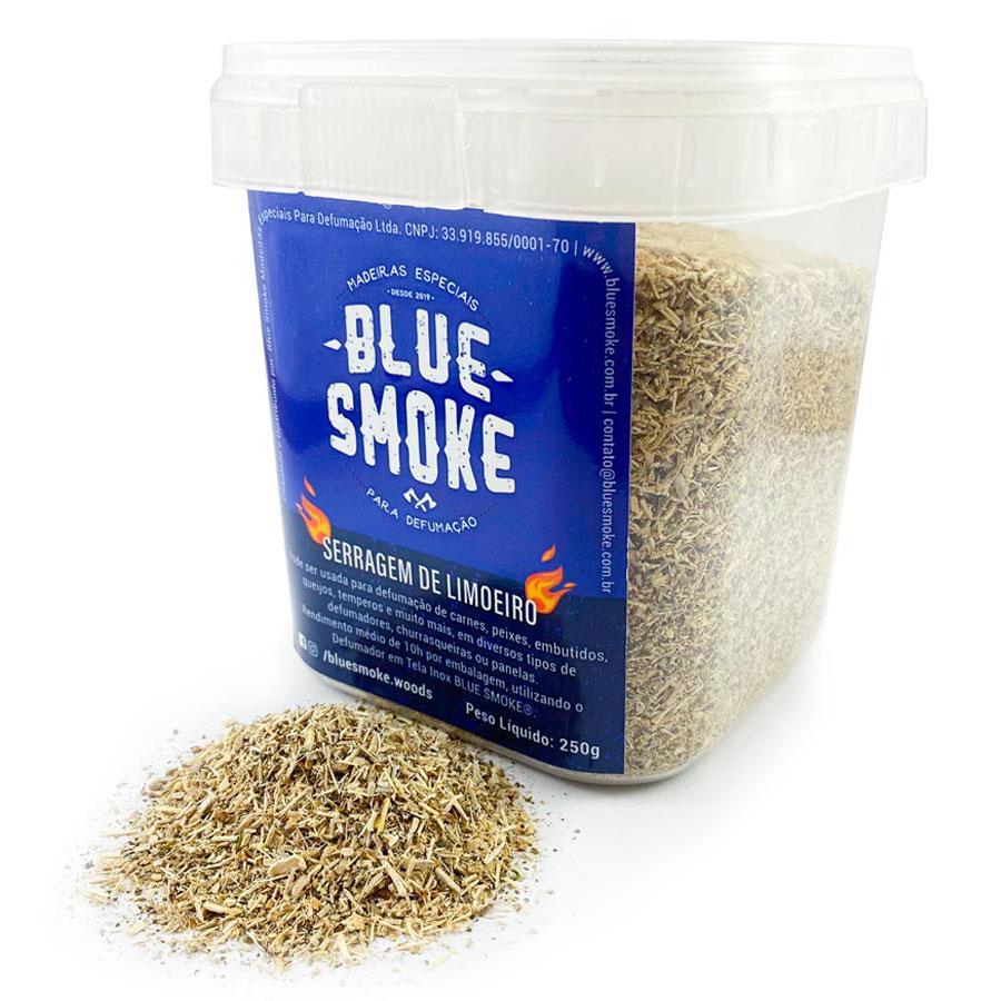Blue Smoke - Serragem Limoeiro Defumação 250g