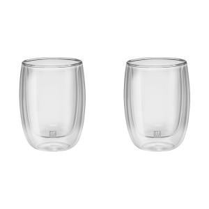 Jogo com 2 Copos de Vidro Parede Dupla para Cappucino 200 ml Sorrento - Zwilling