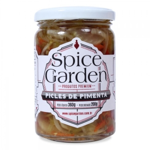 Spice Garden - Picles de Pimenta Premium 360 g