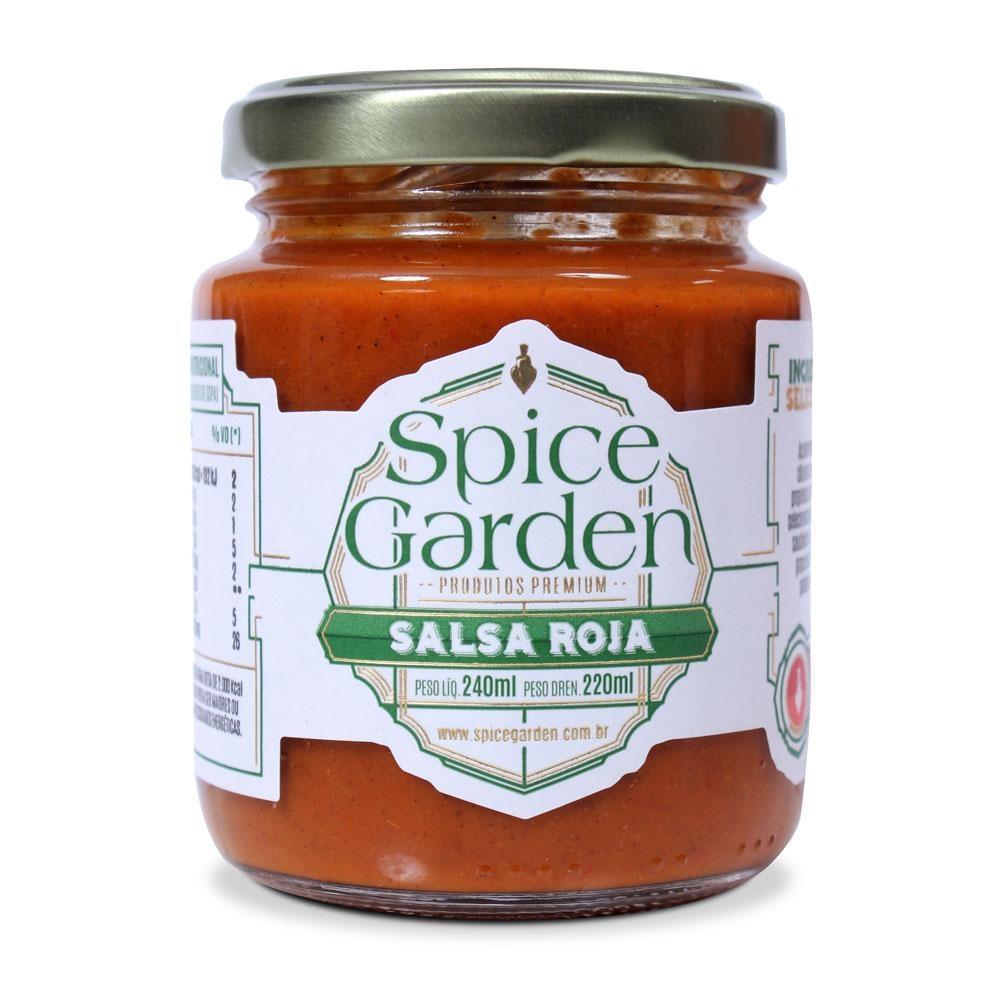 Spice Garden - Salsa Roja Premium 240 ml