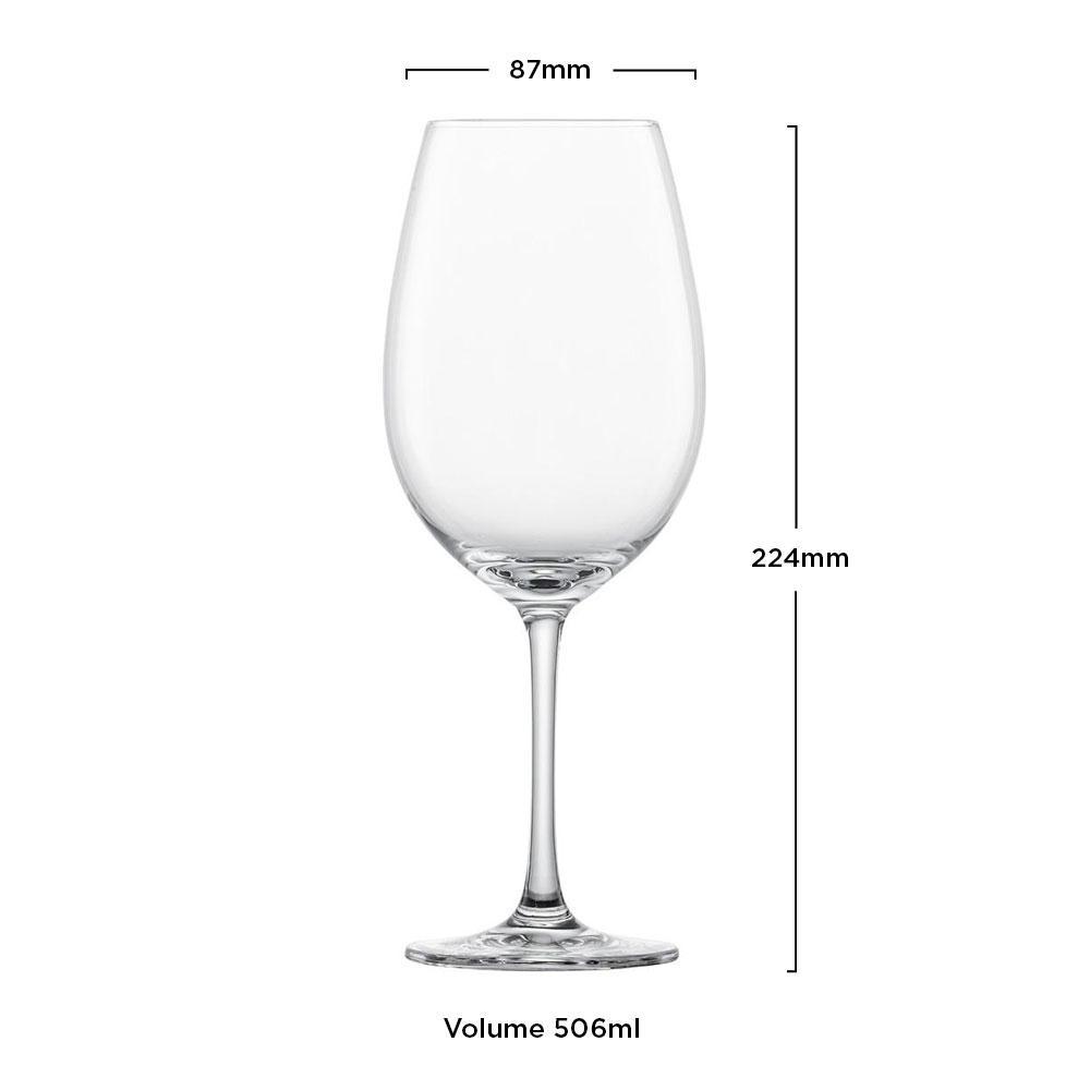 Taça Cristal (Titânio) Vinho Tinto Ivento 506ml - Schott Zwiesel - 1 unidade