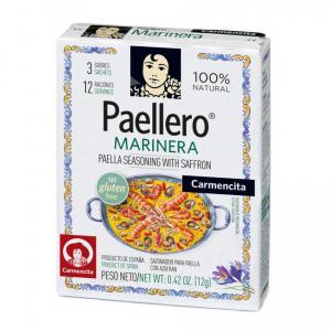 Tempero Paellero Marinera 12 g - Carmencita