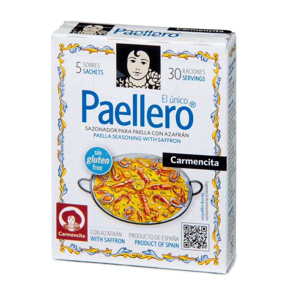 Tempero Paellero Tradicional 20 g - Carmencita