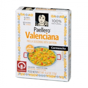 Tempero Paellero Valenciana 12 g - Carmencita