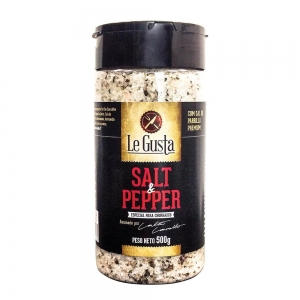 Tempero Salt & Pepper Especial Churrasco 500 g - Le Gusta