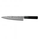 Tojiro Shippu BLACK - Faca Chef Aço Damasco 210mm FD-1594