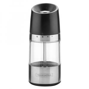 Moedor Sal ou Pimenta Aço Inox c/ Regulagem Realce 14,5 cm - Tramontina
