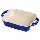 Staub França - Pano de Cozinha Bege/Azul 70 x 50 cm