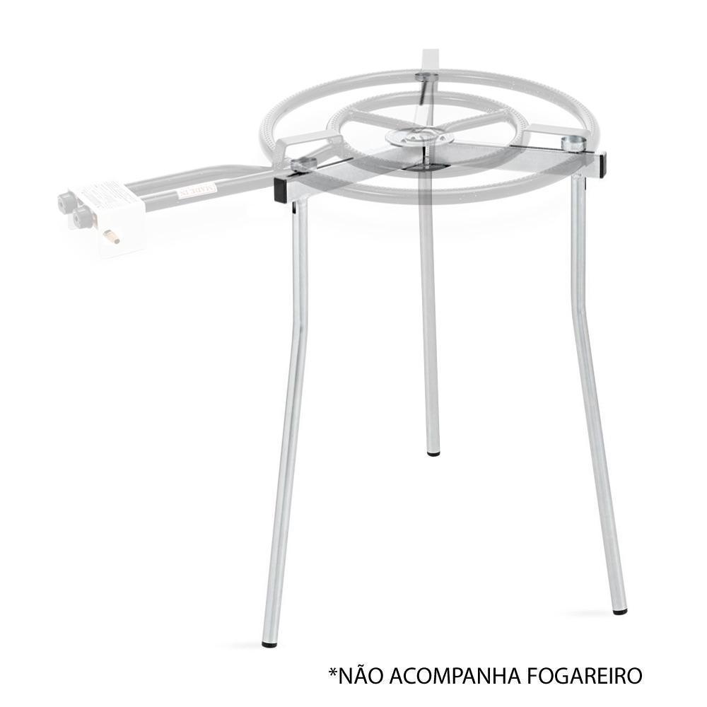 Vaello - Tripé Regulável p/ Fogareiro Paellera