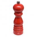 Peugeot Paris - Moedor Pimenta Vermelho Madeira Laqueada 18 cm