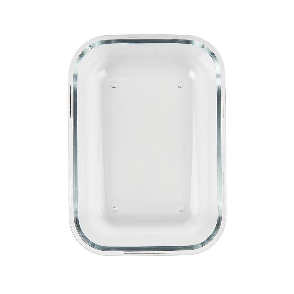 Pote Hermético Vidro Refratário c/ Tampa Retangular 1,7L - Mor