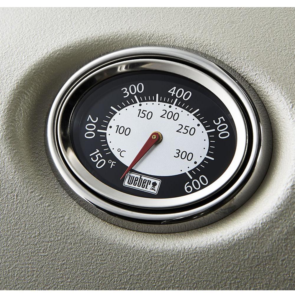 Churrasqueira a Gás Q1200 Vermelha com Termômetro - Weber
