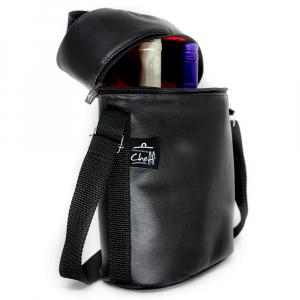 Wine Bag Térmico 2 Garrafas Preto - Professional Cheff