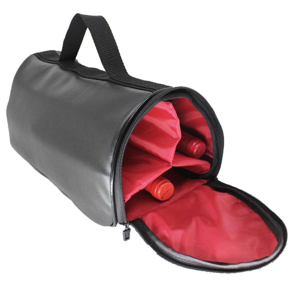 Wine Bag Térmico 3 Garrafas Preto - Professional Cheff