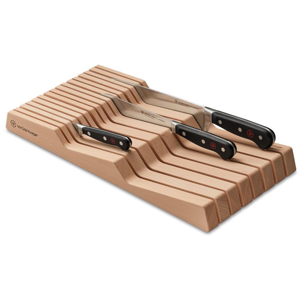 Wüsthof - Organizador Facas Grande Madeira 15 Compartimentos