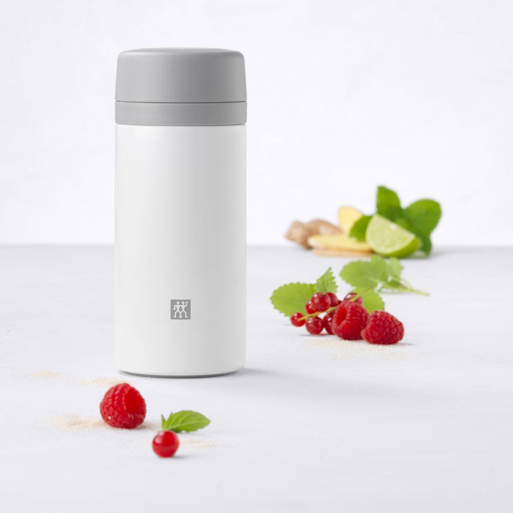Zwilling - Garrafa Térmica Infusão Chá e Frutas Branco 420ml