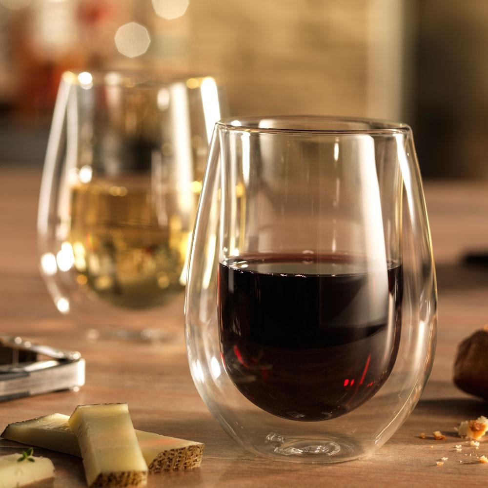 Zwilling Sorrento - Jogo 2 Copos Vidro Parede Dupla Long Drink 296 ml