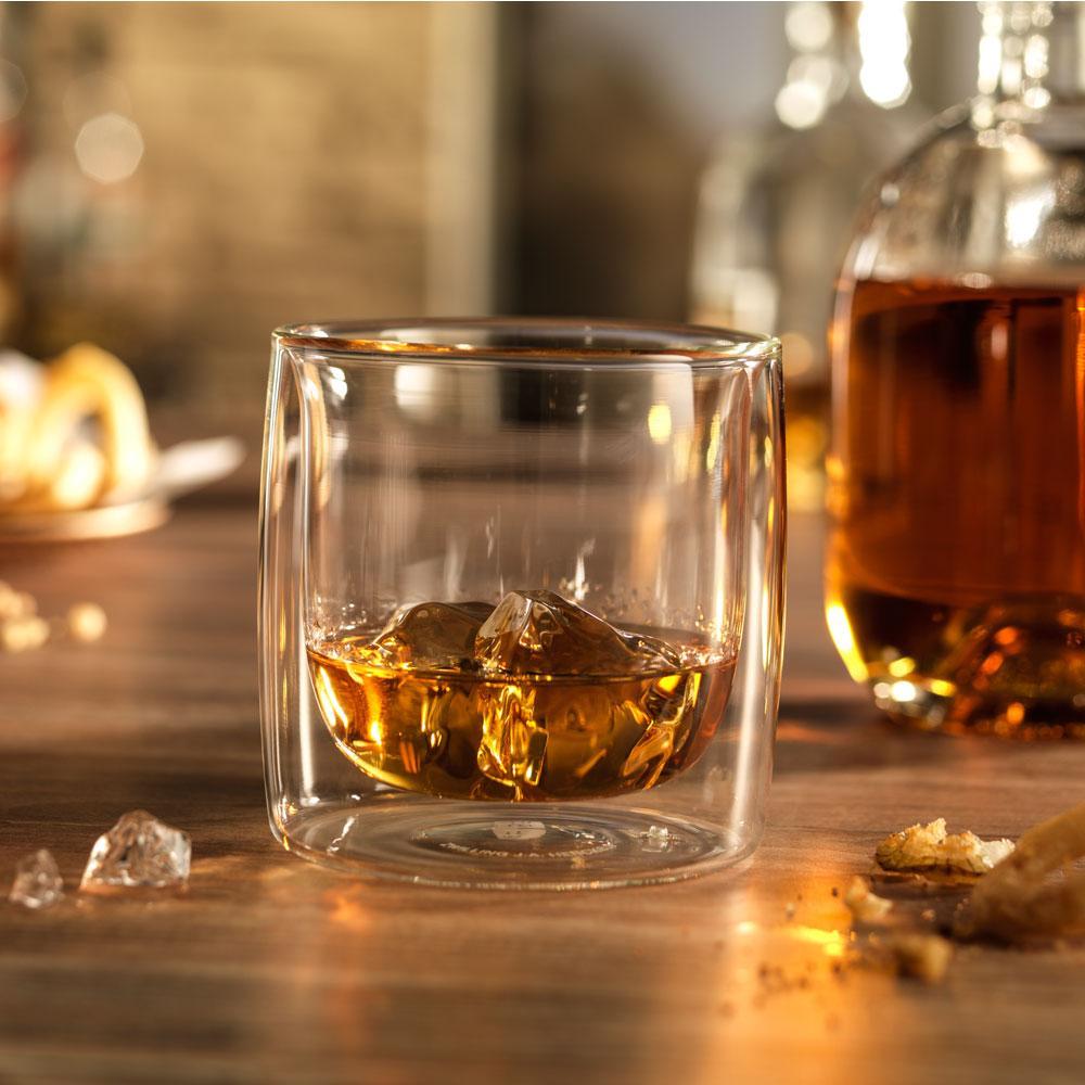 Zwilling Sorrento - Jogo 2 Copos Vidro Parede Dupla Whisky 266 ml